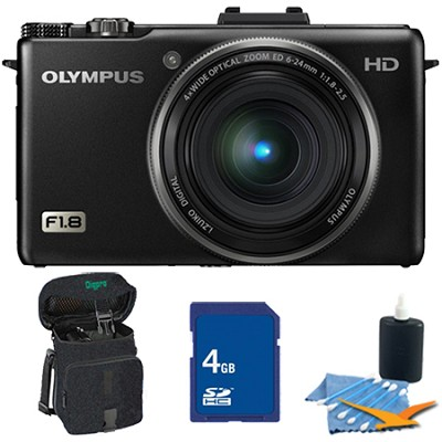 XZ-1 10MP f1.8 Lens Black Digital Camera 4GB Kit