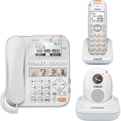 SN6197 CareLine Corded/Cordless Answering System with Pendant