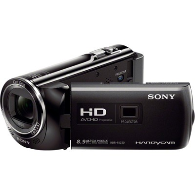 HDR-PJ230/B 8GB Full HD Camcorder with Projector - OPEN BOX