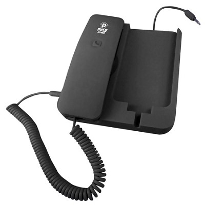 PIRTR60BK Handheld Phone and Desktop Dock for iPhone -Black