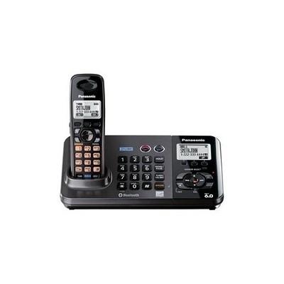 2-Line DECT 6.0 Expandable Digital Cordless Answering System (KX-TG9381T)