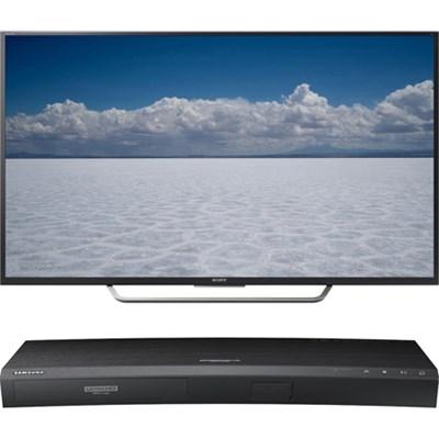 55` Class 4K Ultra HD TV - XBR-55X700D + Samsung UBDK8500 4K UHD Blu-Ray Player