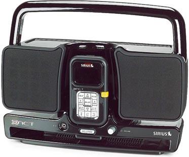XS034 Sirius Satellite Radio Portable Boom Box for Xact XTR2 Satellite Receiver