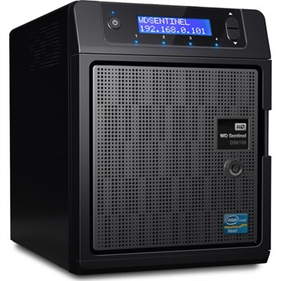 12TB WD Sentinel DS6100 12 TB Ultra-Compact Storage Plus Server - OPEN BOX