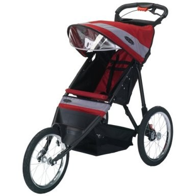 Run Around LTD Jogging Stroller (Red/Grey)