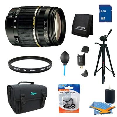 18-200mm F/3.5-6.3 AF DI-II LD Lens Pro Kit f/ Nikon w/ Built-in motor