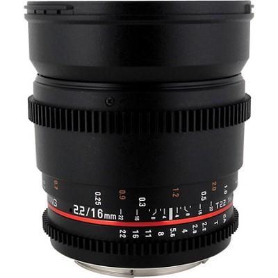 16mm T2.2 `Cine` IF ED Wide-Angle Lens for Micro 4/3 VDSLR