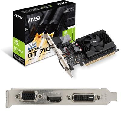 Geforce GT710 2GB FAN LOW PRO