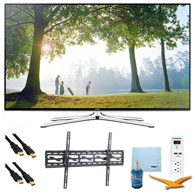 UN48H6350 - 48` HD 1080p Smart HDTV 120Hz  Wi-Fi Plus Tilt Mount & HookUp Bundle