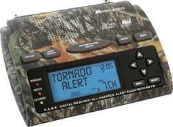WR301 Deluxe Same Weather-Alert/All-Hazard Radio w/ AM/FM Radio