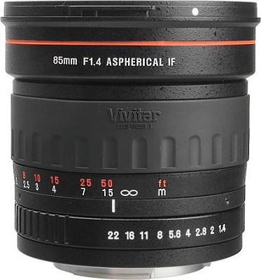 85mm f/1.4 Series 1 Manual Focus Portrait Lens for Canon