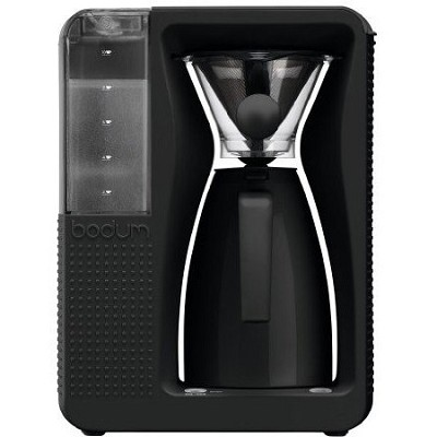 Bistro Electric Pour Over Coffeemaker - Black