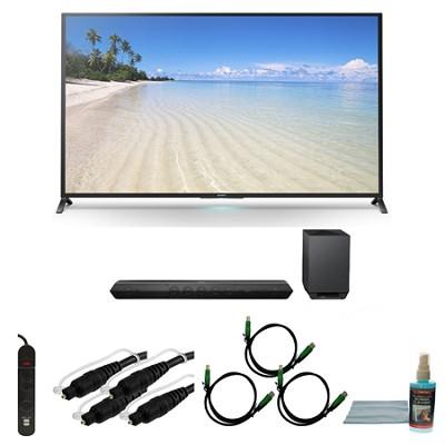 KDL60W850B - 60-Inch 1080p 120Hz Smart 3D LED HDTV Motionflow XR 480 Wifi Bundle