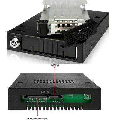 Rugged Full Metal 2.5` SATA HDD & SSD Mobile Rack - MB991SK-B