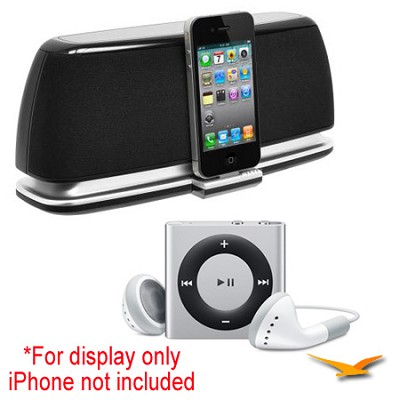 JiPS-200i Universal Docking Digital Music System with iPod Shuffle Bundle
