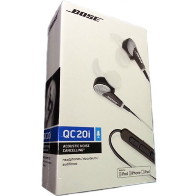 QuietComfort 20 Acoustic Noise Cancelling Headphones, Apple Devices - White
