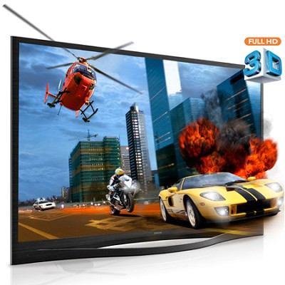 PN64F8500 - 64 inch 1080p 3D Wifi Plasma HDTV w/ Voice & Gesture Control