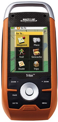 Triton 2000 Handheld GPS w/ 2.7-inch Touchscreen, Camera, & Voice Recorder