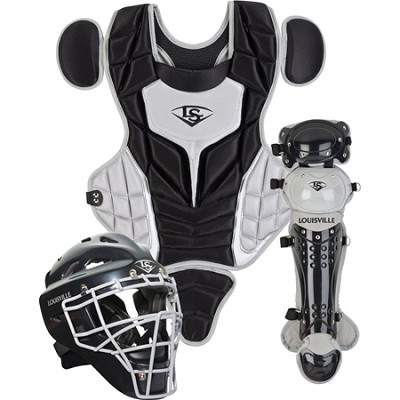 Youth PG Series 5 Catchers Set - Black/Gray