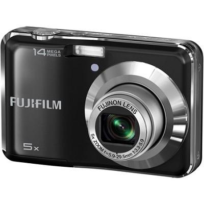 FinePix AX300 14 MP 2.7` LCD Digital Camera w/ Fujinon 5x Wide Angle Zoom Black
