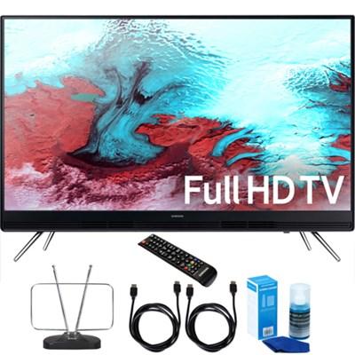 UN40K5100A - 40` Full HD 1080p LED HD TV with Cord & Clean-Up Bundle