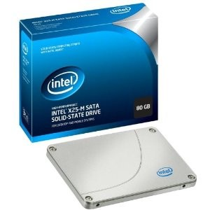 80 GB X25M Mainstream SATA II Solid-State Drive (SSD) Retail Package