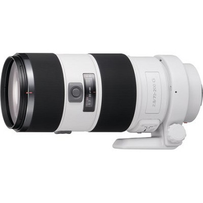 SAL70200G - G Series 70-200mm f/2.8 G Telephoto Zoom Lens for Sony Alpha DSLR's