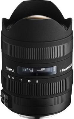 8-16mm f/4.5-5.6 DC HSM FLD AF Zoom Lens for Nikon Digital DSLR Camera