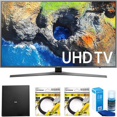 65` 4K Ultra HD Smart LED TV 2017 Model with Antenna Bundle