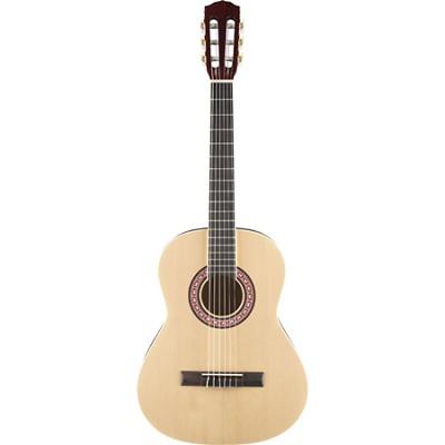 Starcaster 091-0350-121 3/4 Nylon Acoustic Guitar Pack Natural