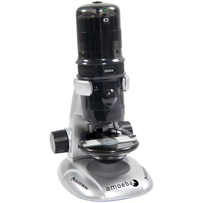 Amoeba Dual Purpose Digital Microscope 44326 - (Grey)