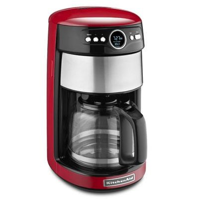 14 -Cup Glass Carafe Coffee Maker in Empire Red - KCM1402ER