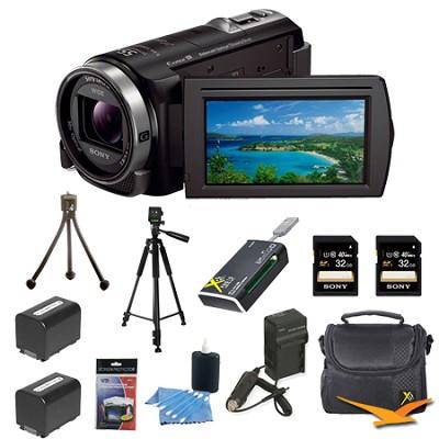 HDR-CX430V 32GB Full HD Flash Memory Camcorder Ultimate Bundle