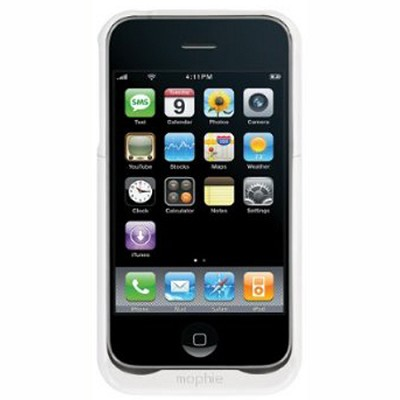 Juice Pack Air   iPhone 3G   White - `REFURBISHED` (Minor Blemishes)