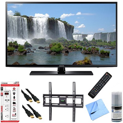 UN48J6200 - 48-Inch Full HD 1080p 120hz Smart LED HDTV Mount & Hook-Up Bundle