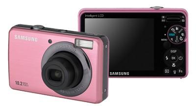 SL202 10MP/ 3X OPT/ 2.7` LCD Digital Camera (Pink)