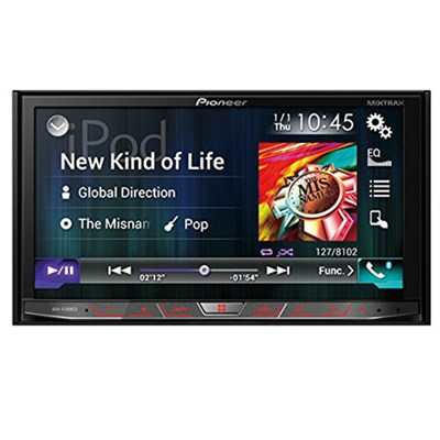 AVH-4100NEX In-Dash Multimedia DVD Receiver w/ 7` WVGA Touchscreen OPEN BOX