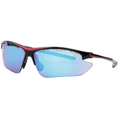 RAWL7 - Half-Rim Athletic Wrap Sunglasses
