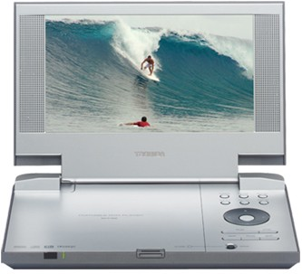 SD-P1800 Portable DVD Player - 8` Widescreen TFT LCD Display