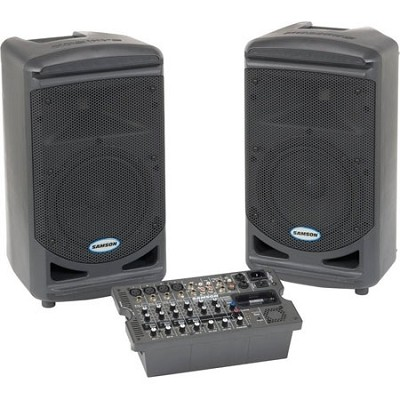 XP308i Portable 8 Channel PA System, 300 Watts