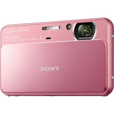 Cyber-shot DSC-T110 16.1MP Pink Touchscreen Digital Camera - OPEN BOX