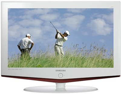LN-S3252D 32` High Definition LCD TV w/ 2 HDMI inputs (white frame)