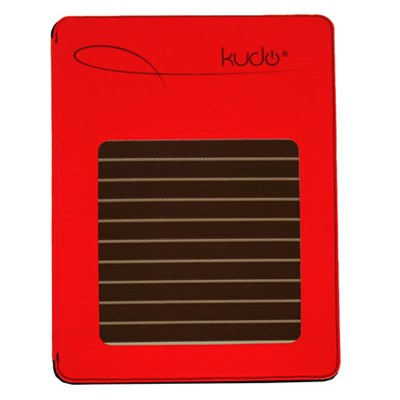 Solar Case with HDMI for iPad2 / iPad3 - Red - OPEN BOX