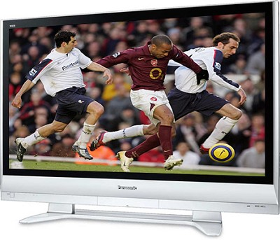 TH-42PX60U 42` high-definition Plasma TV w/ SD memory card slot