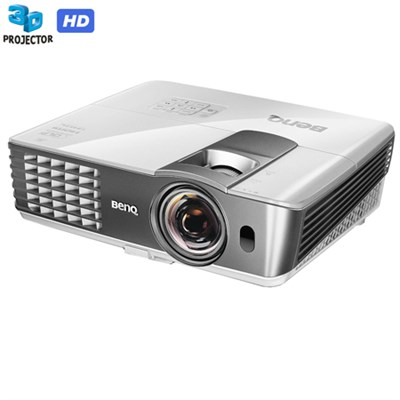 2,200 ANSI Lumen 3D Full HD Short Throw Projector - Certified Refurbished