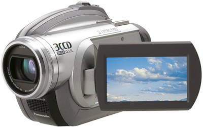 VDR-D310 - 3CCD DVD Camcorder, 10x Zoom, 3.1 MP Still, 2.7` LCD - OPEN BOX
