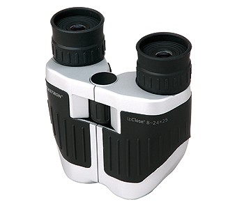 8-24x25 UpClose Zoom Compact Porro Prism Binoculars