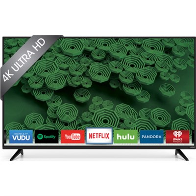 D58u-D3 58-Inch 120Hz 4K Ultra HD LED Smart HDTV - OPEN BOX