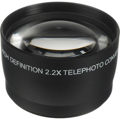 55mm High Definition Pro 2x Telephoto Conversion Lens (Black)