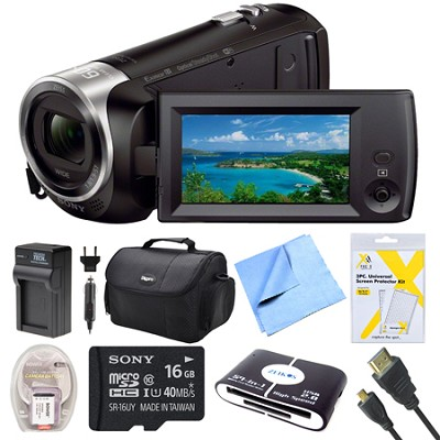 HDR-CX440 Full HD 60p Camcorder Bundle